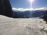 Sunny January in Brixen im Thale