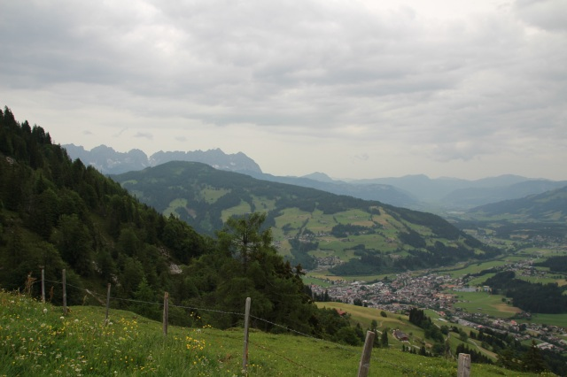 Kirchberg and the Wilder Kaiser in the background