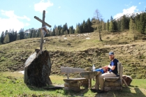 A picnic at the Rettensteinalm
